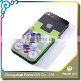 Made in China cheap branding 3m sticker smart wallet mobile card holder
