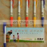 2015 hot selling plastic pen banner