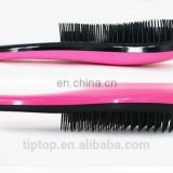 Professional plastic hair brush factory,producer best sales hair brush, detangling brush