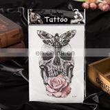 china harmless metallic gold temporary hand body sticker tattoo