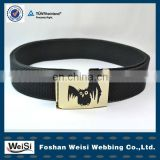 Wholesale Fashionable Alloy Buckle Woven Belt For Men