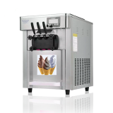 Soft serve italian gelato commercial ice cream making machine