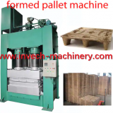 Formed Wood Sawdust Pallet Making Machine