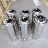 Stainless Steel Internals Industrial Water Filter Housing Stainless Steel Cartridge Filter Housing