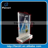 A3 A4 A5 Cell Phone Acrylic Price Holder