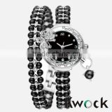 Woman Bracelet Watch Black Pearl Ladies Watch vogue women watch