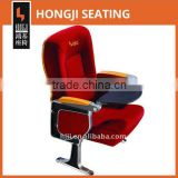 aluminum leg auditorium chair with writing pad HJ9603-L