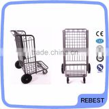 Platform structure airport luggage hand trolley