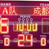 outdoor digital stadium LED electronic scoreboard with shot clock                                                                         Quality Choice