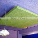fireproof painted wood wool acoustic panel;wood fiber cement acoustic board