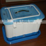 Multi-function seafood transport box-Oxygen generation system