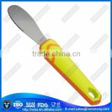 2015 new type stainless steel butter knife,cheese scraper