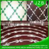 JZB Hot Dipped Galvanized Anti-Climb Razor Barbed Wire                                                                         Quality Choice