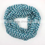 cotton linen blend yarn round fashionable women ladies neck scarf