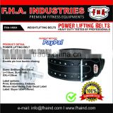 Power lifting Belt 10mm Genuine Leather Men Women Gym Training CrossFit Belt and Fitness Accessories by FHA INDUSTRIES PAKISTAN