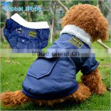 Pet products fur collar pocket USA airforce dog coats and jacket                                                                         Quality Choice