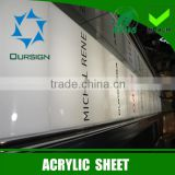 Factory about acrylic sheet