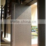 China Factory Top 10 Hardware round tube stainless steel american style door handle cover