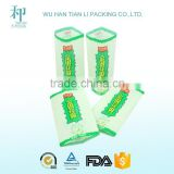 Custom Printing PVC wrap around label heat shrink wrap bottle labels