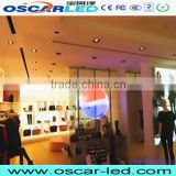 led display glass screen can be see through XR 16H electronic transparent led glass display