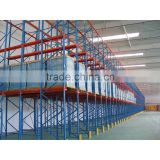 warehouse shelves drive in pallet rack