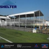 10m Shelter new design double deck tent with ABS wall system/ two storey tents for sale made by shelter tent guangzhou factory