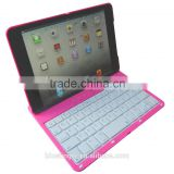 ABS material 360 degree rotatable Bluetooth keyboard cover case for iPad Mini1/2/3