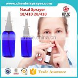Chinese market popular style different size dosage 0.12ml medical nasal sprayer nose sprayer pump atomizer with factory price