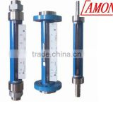 Glass glass rotameter flow meter with high quality
