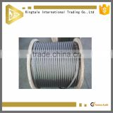 high quality ungalvanized wire rope tension meter steel cable                                                                         Quality Choice
