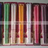 Indian flaring shape with attached ear plug aromatherapy life-giving 8 colors ear candles for sale