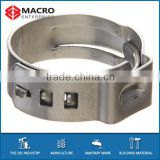 galvanized iron hose clamp prices with best low price