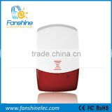 Fanshine Indoor Wireless Solar Electronic Siren for Home Security Alarm System