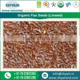India Organic Certified Range of Organic Flax Seeds(Linseed) for Pharmaceutical Industries