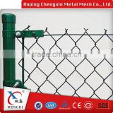 Galvanized & PVC coated chain link fence, diamond wire mesh 50x50mm ( Anping manufacturer )