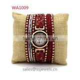 New Product For 2105 Adjustable Length Watch Bracelet Beautiful Colored Belt Women's Watch Gift