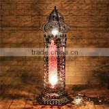 Antique Moroccan floor lamps/ colorful iron cage floor lights/made in china floor lighting