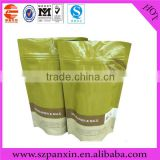 Full color printing high quality coffee tea bags/stand up coffee pouches/coffee doypacks