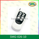 433.92Mhz Dip Switch remote control for garage door / rolling curtain /shutter SMG-026