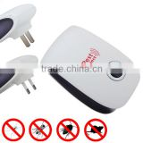 Hot Sale 5W Electronic Ultrasonic Environmental Anti Insect Pest Mosquito Mouse Rat For Repeller EU US Plug