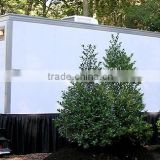 Atv log trailer,trailer toilet, Portable Toilet, Movable trailer Toilet