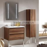 wholesale china factory modern space saver commercial 28 inch small wall hung bathroom vanity