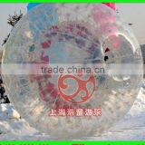 TPU Snow Land Zorb Ball Inflatable Human Sized Hamster Ball For Bowling