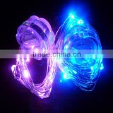 Led mini Flower string colorful micro led single flashing indoor decorative string light