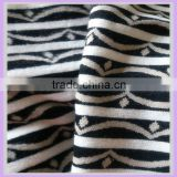 wool fabric flimsy fabric knit wool sweater fabric black and white stripe fur