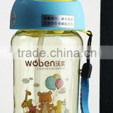 Colorful Printing Children Bottle, high quality baby feeding bottle NO.8301