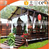 Waterproof cheap log cabins prefab house and luxury wooden house prefabricated fiberglass houses and villa design