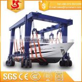 New design Mobile Boat Lifting Hoist/boat lifting gantry crane/floating boat lift prices