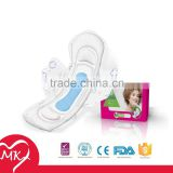 Regular/Super/Overnight/Maxi Anion female cotton sanitary napkin side effects with wings herbal tampon incinerator