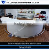 Artificial Stone Solid Surface Office Counter Table Design,Pizza Display Over Counter,Glass Bar Counter Design